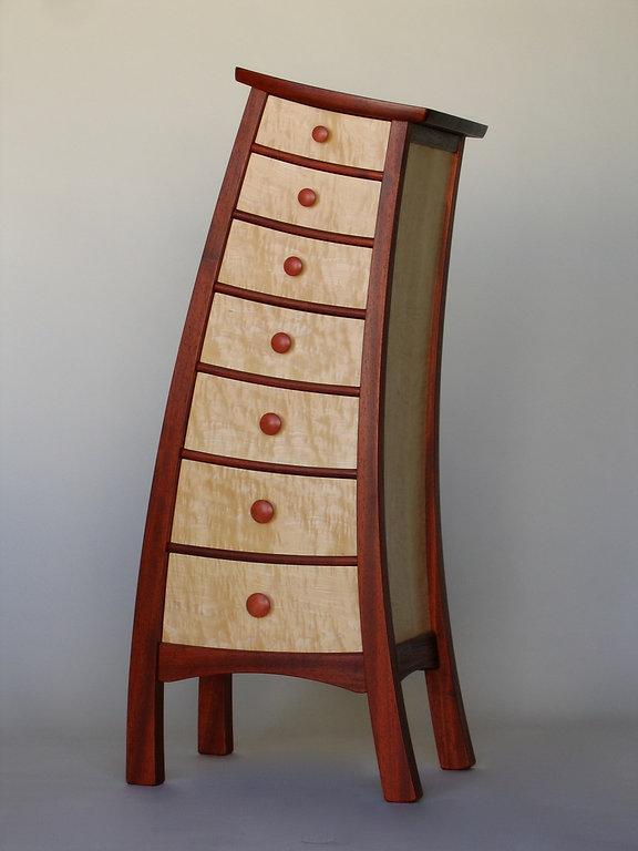 Tip-Top Semainier Padauk Maple