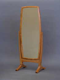 Curvaceous dressing mirror
