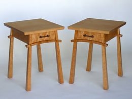 Arc-Front Bedside Tables
