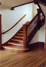 An elegant grand stair