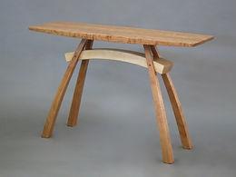 Arc-Trestle Hall Table