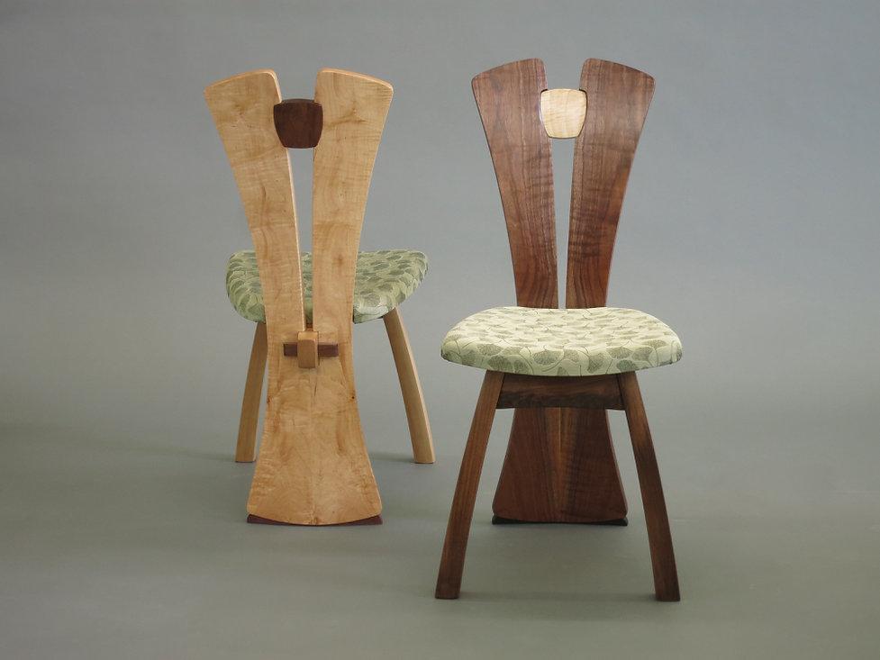 Split-Back Chairs, 2015