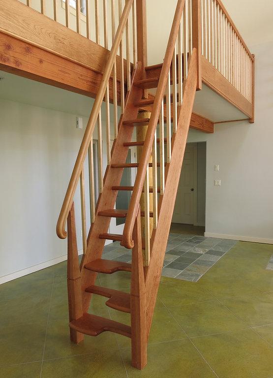 Alternate-Tread Staircase
