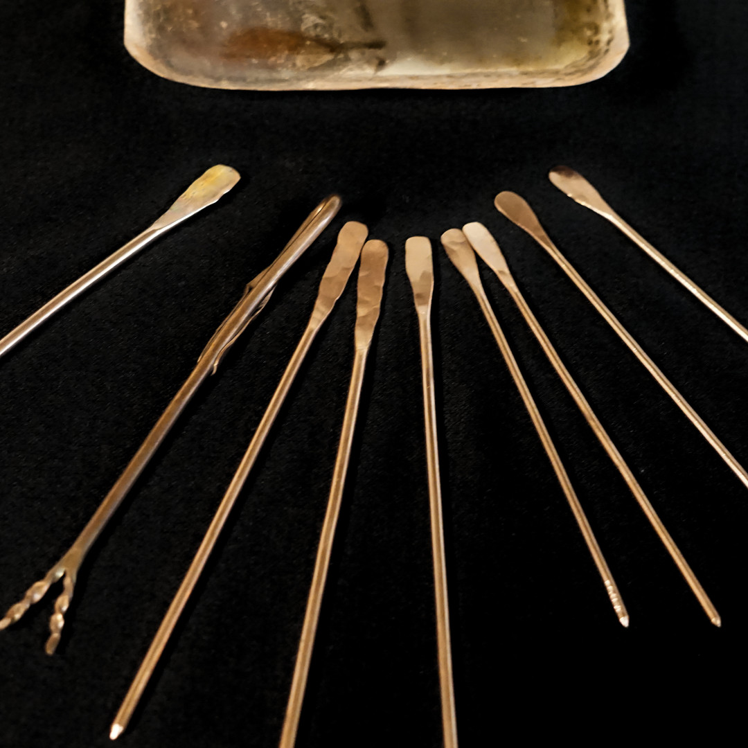 Cocktail Skewers and forks