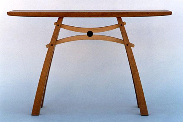 Hourglass Hall Table
