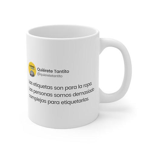 """""""Las etiquetas"""" Taza"""