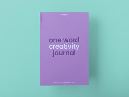 One Word Creativity Journal: 90 días