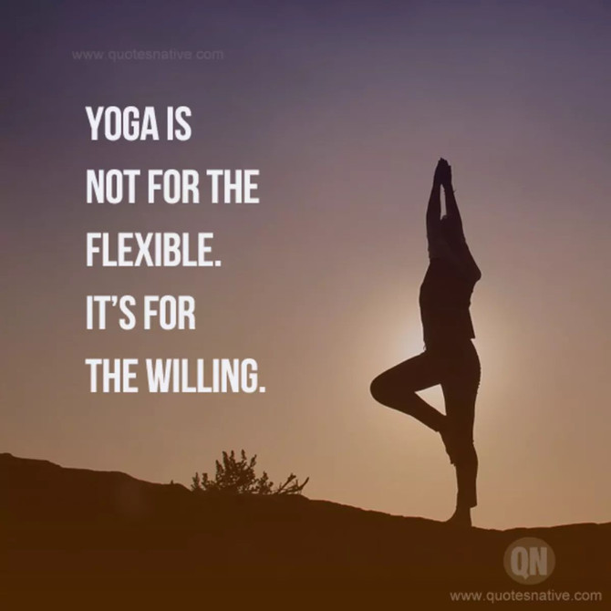 Its interesting when you look into yoga and have no idea where to start. You search and read words l
