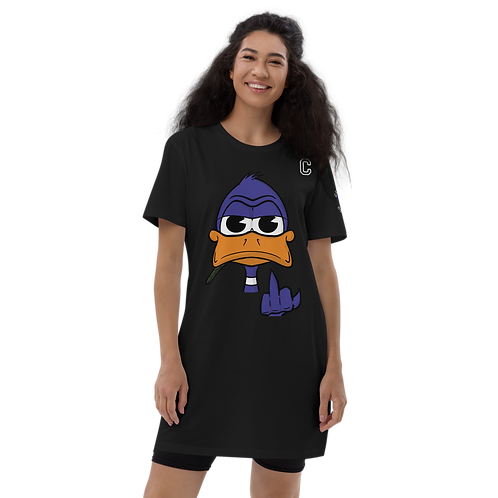Duckie Doo Organic cotton t-shirt dress