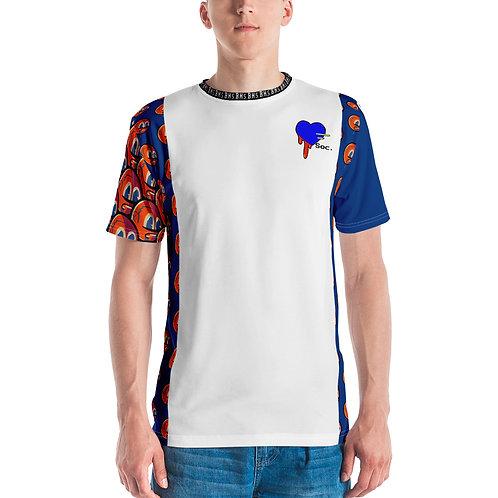 Mind Boom Over Print Men's Crew Neck T-Shirt