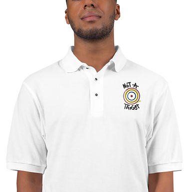 Not a Target Men's Premium Polo