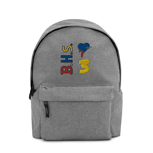 BHs Embroidered Backpack