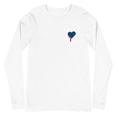Premium Embroidered Long Sleeve BHs Tee