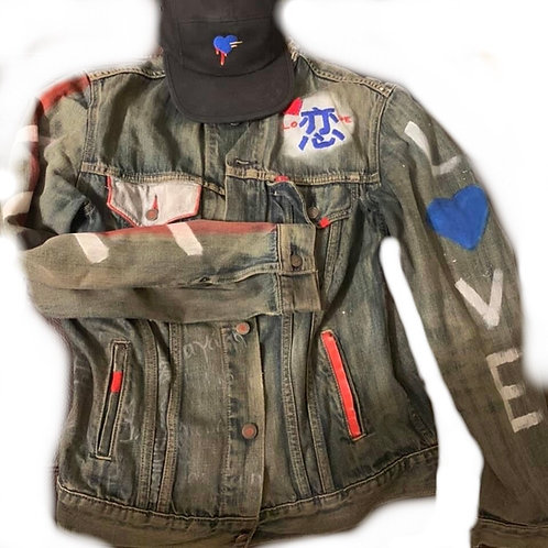 Custom BLue Jean jacket