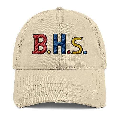 BHs Distressed Dad Hat