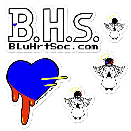 BLu Guardians Bubble-free stickers