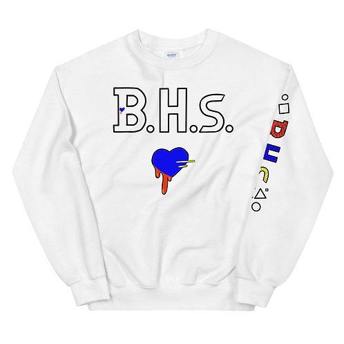 Team BHs Printed Unisex Sweatshirt