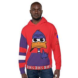 All-Over Print Duckie Doo Hoodie