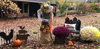 Scarecrow contest- McCarthy Farm