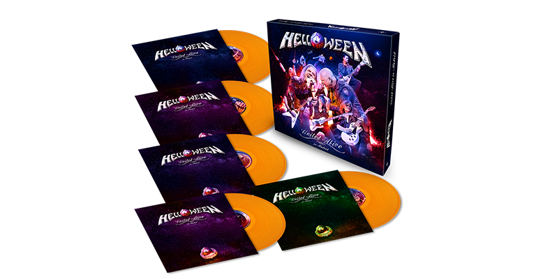 United Alive Limited Orange Vinyl Box_