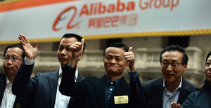 Alibaba Group бьет рекорды на бирже