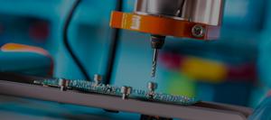 Оборудование сверления печатной платы