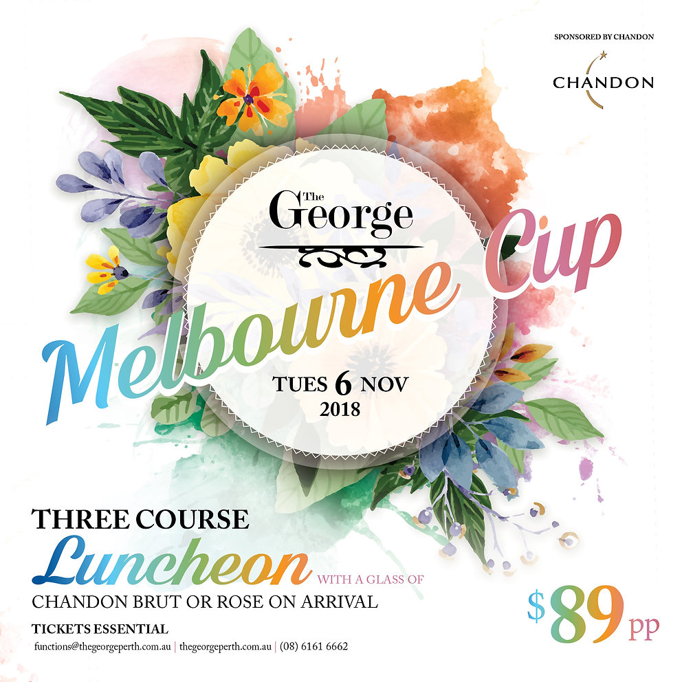 CHAN21 - V3 -  MELB CUP - The George - E