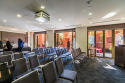 London Room: Theatre Style