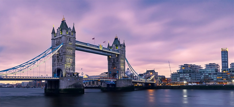 A picture of tower bridge with the title Millennial Londoner and subtitle be a warrior not a worrier