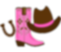 cowgirl hat and boots