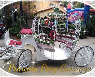 Pony Princess Carriage