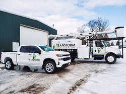 Vehicle Graphics for Transform Tree and Shrub Care