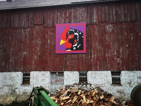Barn Quilt Spotlight - The Bird