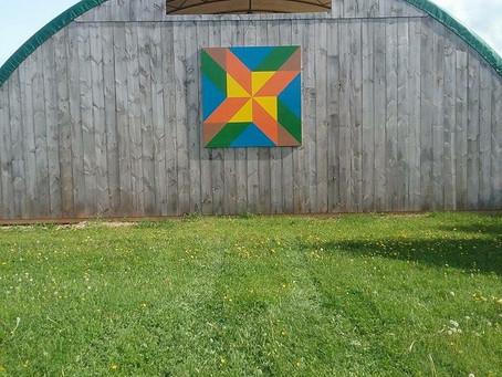 Barn Quilt Spotlight - Foster Family Pinwheel