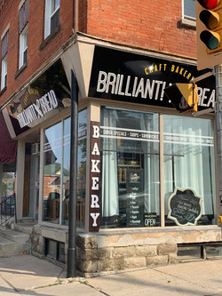 Brilliant Bread Storefront Signs and Windows