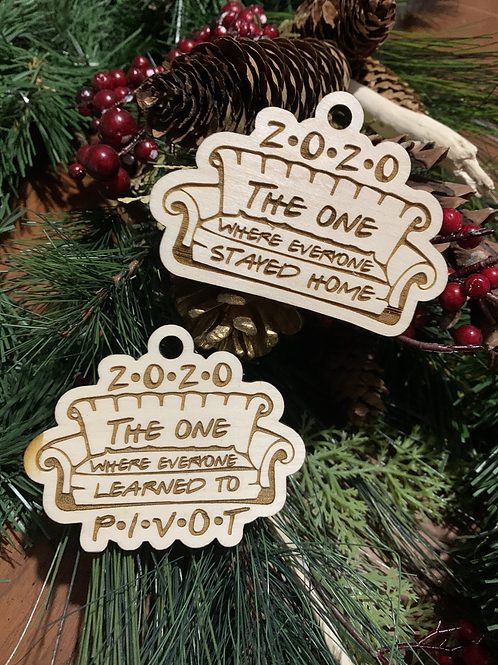 Friends Inspired 2020 Ornaments