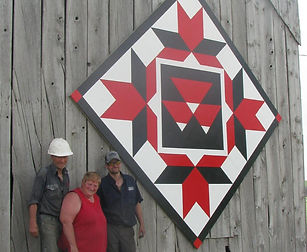 For the Love of Grey Barn Quilt Trail