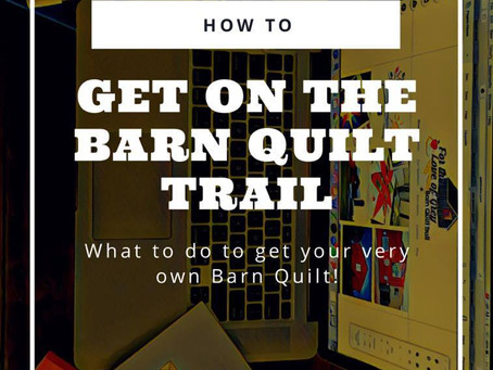 How to get on the Barn Quilt Trail