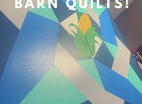 We are painting another batch of Barn Quilts!