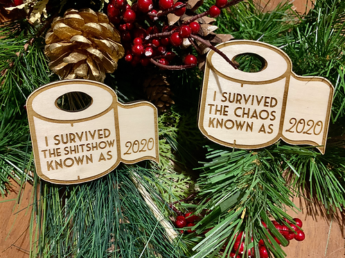 Survived 2020 Ornament