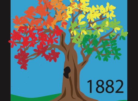 Barn Quilt Spotlight - Bell's Oak Tree