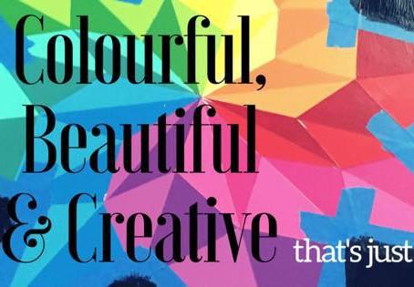 Colourful, Beautiful & Creative