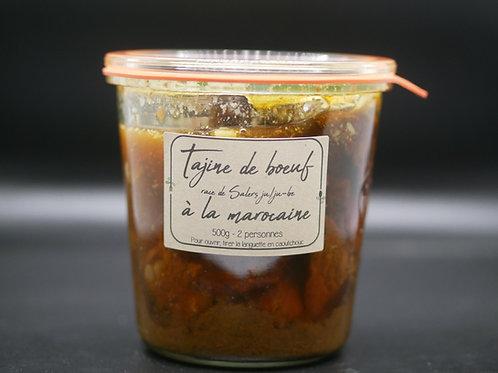 Tajine de boeuf race de Salers ju/ju-be à la marocaine
