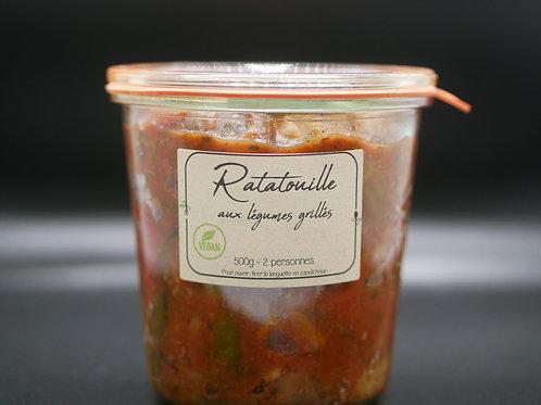 Ratatouille aux légumes grillés