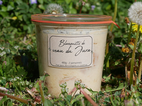 Blanquette de veau du Jura