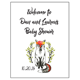 Baby Shower Welcome