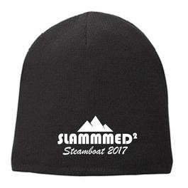 SLAMMMED beanie