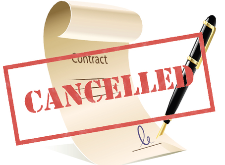 Knowledge Mondays – Can a Buyer Cancel a Real Estate Contract?