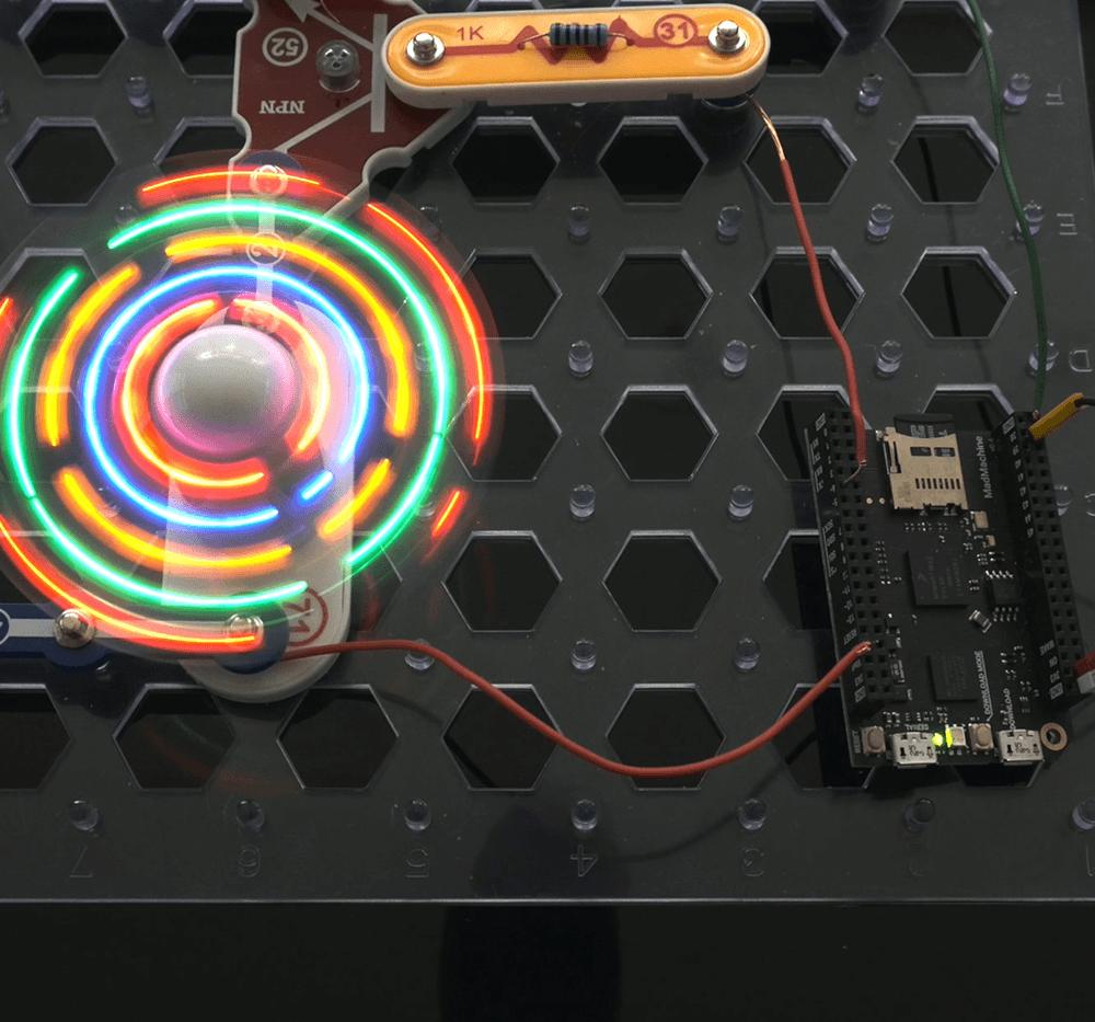 Build a hologram LED fan