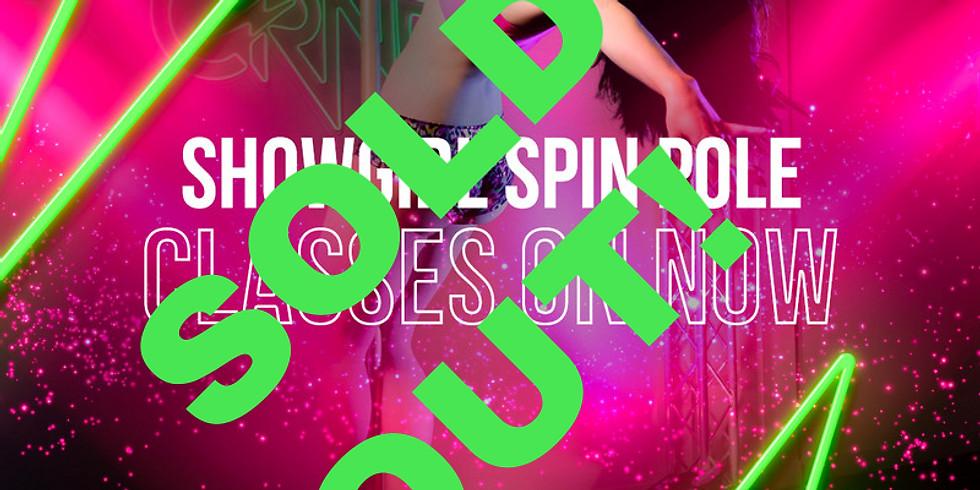 Showgirl Beginner Spin Pole- Monday